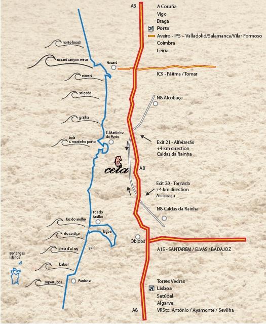 Mapa Brochura
