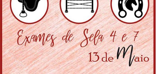 EXAMES DE SELA 4 E 7 – 13 DE MAIO